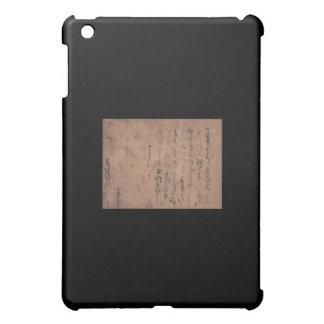 Letter written by Miyamoto Musashi, c. 1600's iPad Mini Covers