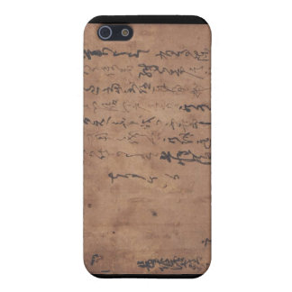 Letter written by Miyamoto Musashi, c. 1600's Case For iPhone 5