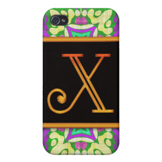 LETTER X 4  iPhone 4/4S COVER