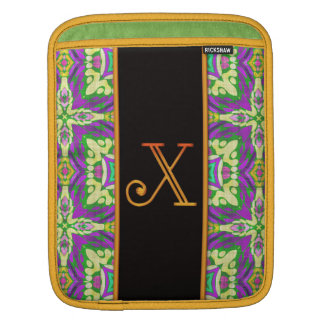 LETTER X iPad Sleeve