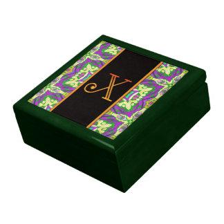LETTER X Keepsake Box