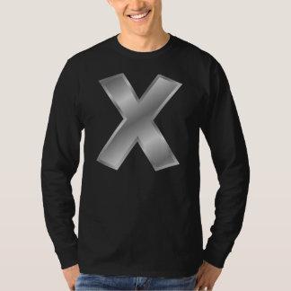 Letter X Monogram Men's Basic Long Sleeve T-Shirt