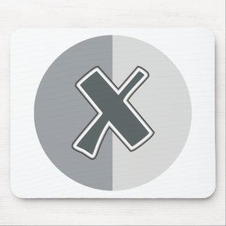 Letter X Mouse Pad