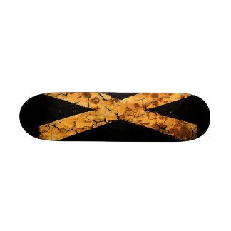 Letter X Skate Board