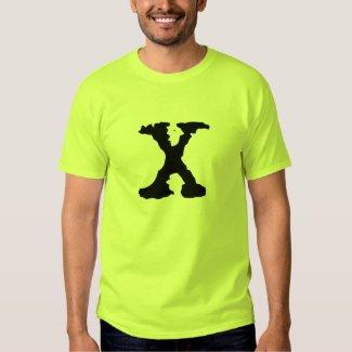 Letter X Tee Shirt