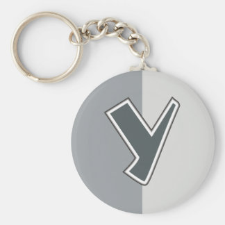 Letter Y Keychain