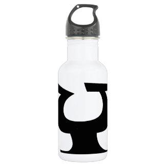 Letter Y_large Water Bottle