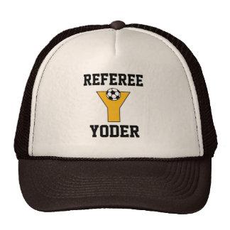 Letter Y Monogram in Soccer Gold Trucker Hat