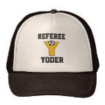 Letter Y Monogram in Soccer Gold Trucker Hats