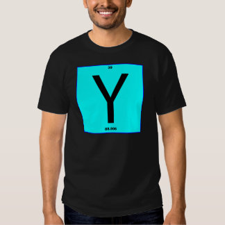Letter Y periodic table T Shirt