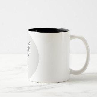 Letter Y Two-Tone Coffee Mug