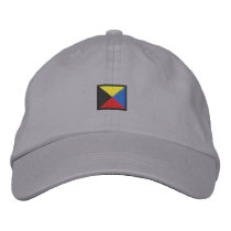 Letter Z Embroidered Baseball Hat