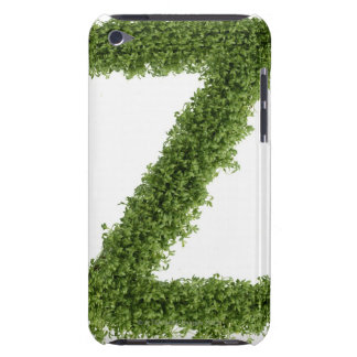 Letter 'Z' in cress on white background, 2 Barely There iPod Case