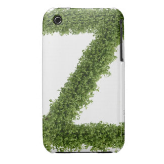 Letter 'Z' in cress on white background, 2 iPhone 3 Case-Mate Cases
