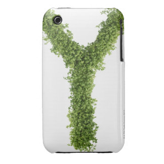 Letter 'Z' in cress on white background, iPhone 3 Cases