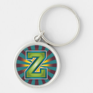 Letter Z Keychain