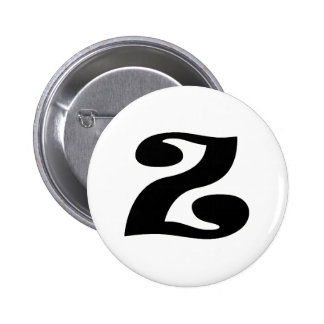 Letter Z_large Pinback Button