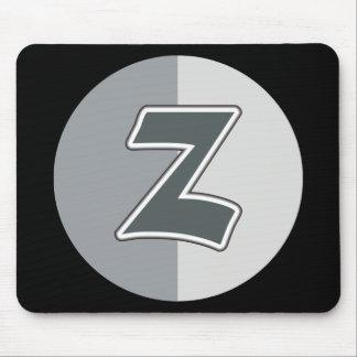 Letter Z Mouse Pad