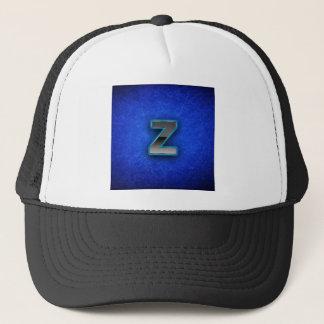 Letter Z - neon blue edition Trucker Hat