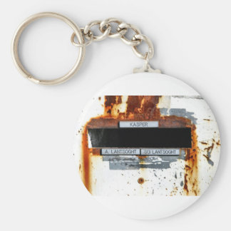 Letterboxes With Attitude 1 - Paris Basic Round Button Keychain
