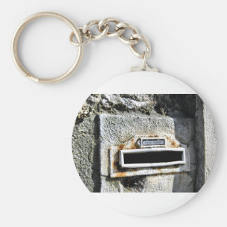 Letterboxes With Attitude 2 - Paris Basic Round Button Keychain
