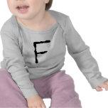 LetterF Camisetas