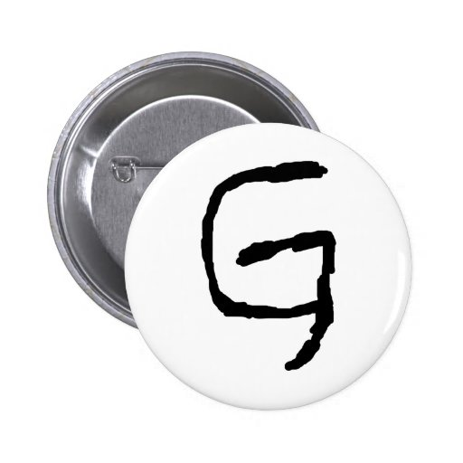 LetterG Pin