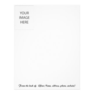 LETTERHEAD CUSTOMIZE YOUR OWN - ADD YOUR OWN IMAGE