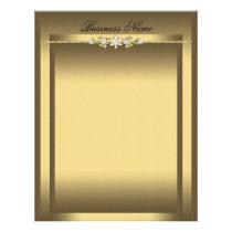 Letterhead Elegant Beige Gold