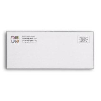 Letterhead Envelope #10 with Logo Address Indicia