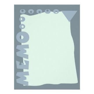 Letterhead Memo Sheets