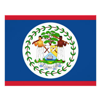 Letterhead with Flag of Belize