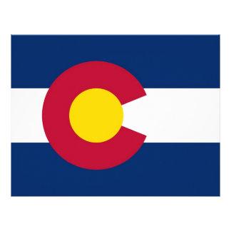 Letterhead with Flag of Colorado