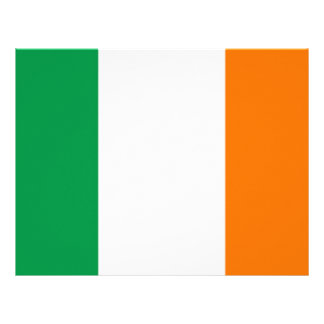Letterhead with Flag of Ireland