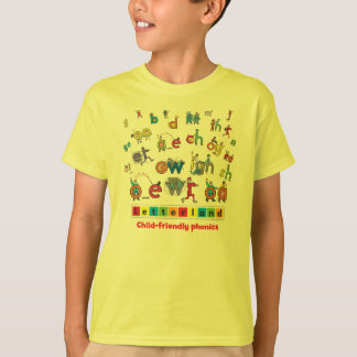 Letterland | Child's T-Shirt Full Colour
