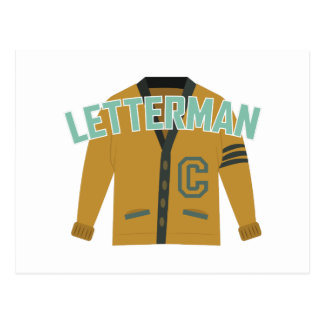 Letterman Postcard