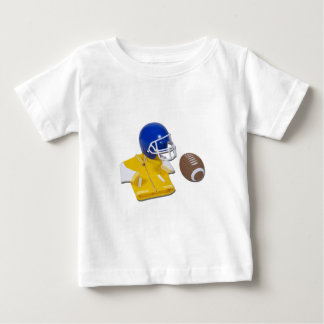 LettermanJacketFootballHelmetBall111811 Baby T-Shirt