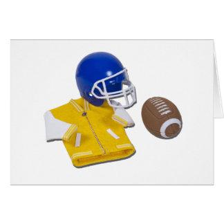 LettermanJacketFootballHelmetBall111811 Card