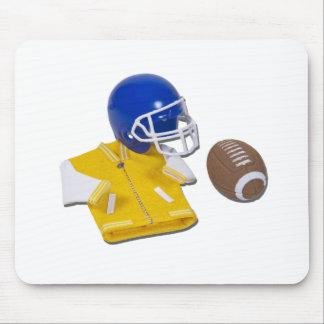 LettermanJacketFootballHelmetBall111811 Mouse Pad
