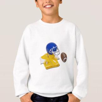 LettermanJacketFootballHelmetBall111811 Sweatshirt