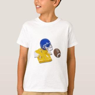 LettermanJacketFootballHelmetBall111811 T-Shirt