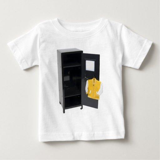 LetterManJacketLocker110409 copy Baby T-Shirt