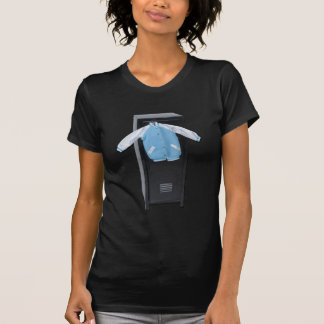 LettermanJacketOnLocker090912.png T-Shirt