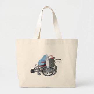 LetterManJacketWheelchair090912 png Tote Bag