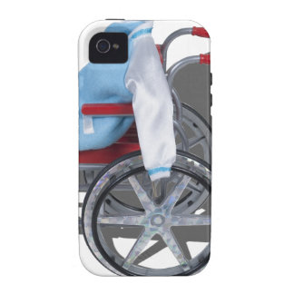 LetterManJacketWheelchair090912.png iPhone 4/4S Cover