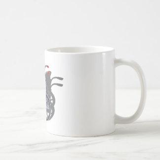 LetterManJacketWheelchair090912.png Classic White Coffee Mug