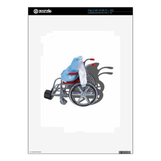 LetterManJacketWheelchair090912.png iPad 2 Skin