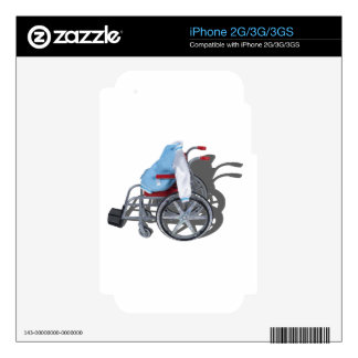 LetterManJacketWheelchair090912.png Decals For iPhone 3GS