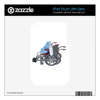 LetterManJacketWheelchair090912.png Decals For iPod Touch 4G