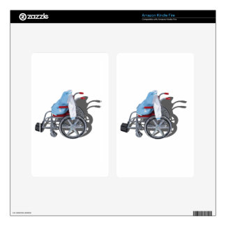 LetterManJacketWheelchair090912.png Skin For Kindle Fire